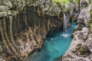 *Great Soča-Gorge @ secret cascades*