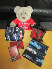 It's me birfday! (pefkosmad) Tags: tedricstudmuffin teddy ted bear animal toy cute cuddly soft stuffed plush fluffy wellingtons boots wellies boxers boxershorts underwear jigsaws puzzles birthday gifts presents