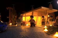 Paprihaven 1411 (MayorPaprika) Tags: canoneos50d mini figs figure paprihaven pvc miniature smallscale figurine diorama toy story scene custom bricks plastic vinyl lego minifig disney cars cozyconemotel