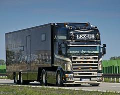 Lex-us (D) (Brayoo) Tags: v8 scania lexus customized transport truck trans lkw lorry