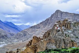 Dhankar Gompa (Monastery) - Spiti