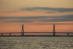 Farø Bro (harve64) Tags: bogø denmark storstrøm sunset farø bro bridge skåninge