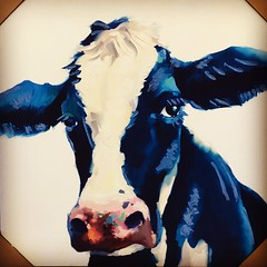 Holstein Cow (booboo_babies) Tags: cow holstein holsteincow farm farmanimal art dairy dairyfarm painting