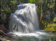 Middle Tumalo Falls - near Bend, OR (Wayne~Chadwick) Tags: 09 neutral density filter