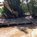 Removing the failed pedestrian bridge over South Boulder Creek at South Boulder Road