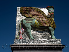 Trafalgar Square 1618 (stagedoor) Tags: london trafalgarsquare 4thplinth michaelrakowitz lamassu olympus omdem1mkii copyright statue sculpture city glc greaterlondon londonboroughofwestminster capital england uk
