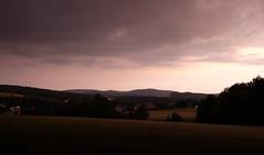 Am Abend mancher Tage (isajachevalier) Tags: sonnenuntergang abend abendstimmung landschaft sachsen panasonicdmcfz150