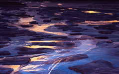 Wandering the Mirage Coast (Charles Opper) Tags: canon georgia gouldsinlet stsimonsisland abstract coast color contrast doubleexposure illusion landscape light mirage mood nature pattern ripples sand water