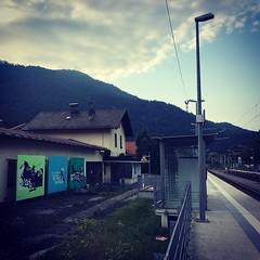 Bahnhof Oberau 2018