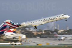 American Eagle 18-5-2018 (Enda Burke) Tags: americaneagle skywest bombardier avgeek aviation airplane canon canon7dmk2 losangeles california socal usa unitedstatesofameria american americanairlines runway lax klax america crj bombardiercrj701 crj701