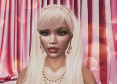 Demetra LoveMusic (JohnnyWalker29 Resident) Tags: second life beautiful girl kiss