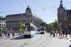 Leidseplein (Tim Boric) Tags: amsterdam leidseplein tram tramway streetcar strassenbahn bn gvb hirschgebouw
