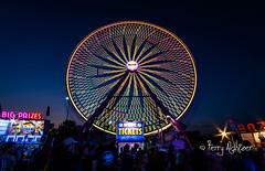The Big Wheel Sun Twilight Salem Fair (Terry Aldhizer) Tags: big wheel salem fair virginia night twilight amusement ride deggeller midway attraction terry aldhizer wwwterryaldhizercom long exposure