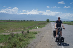 Mount Ararat in the background
