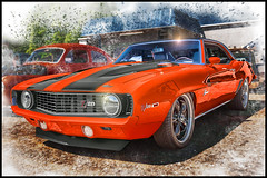1969 Chevrolet Camaro Z28 (@CarShowShooter) Tags: easley geo:lat=3481839792 geo:lon=8261825770 geotagged mcdanielheights southcarolina unitedstates usa 1969chevroletcamaroz28 2470 2470mm 719rossavenue americanclassiccar americanmusclecar auto automobile automotivephotography bowtie buzsim camaro camaroz28 car carmuseum carphoto carphotography carshow chevrolet chevroletcamaro chevy chevycamaro classic classicauto classicautomobile classiccamaro classiccar classicvehicle coche digitalart easleyskatecenter fastcar greenvillecounty greenvillecountysc greenvillecountysouthcarolina gsp heartbeatofamerica hotrod musclecar nikkor2470 nikond800 orangecar photoshopcar rollingtotherinkcarshow sc sccarshow southcarolinacarshow sportscar topazbuzsimeffect topazfilter topazsimplify topazsoftware upstatesouthcarolina vehicle véhicule vehículo voiture worldcars z28 z28camaro