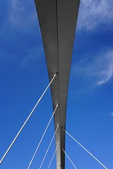 Clyde Arc (p.mathias) Tags: bridge glasgow scotland arc uk unitedkingdom city bluesky sky abstract europe sony a5100