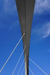 Clyde Arc (p.mathias) Tags: bridge glasgow scotland arc uk unitedkingdom city bluesky sky abstract europe