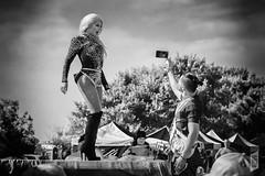 Lady Boy Show (Corbicus Maximus) Tags: ladyboy southsea portsmouth thaifestival southseathaifestival monochrome nikon d7200 18140mm lightroom niksilverfxpro2 performance
