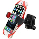 Cars Accessories : Giveme5 Universal Bike Phone Holder with Supergrip Elastic Stabilizer for Iphone... thumbnail