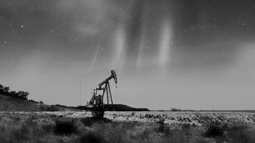 Oilfield Pumpjack in West Texas #jcutrer