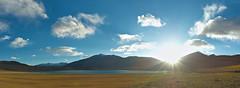 Thadsang Karu at Sunset (pallab seth) Tags: leh ladakh jammukashmir india autumn colour color thadsangkarulake landscape mountains himalayas highaltitudelake panorama sunset kyagartso
