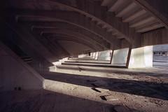 Città dello Sport (Livio De Mia) Tags: città dello sport vela di calatrava analog analogic kodak