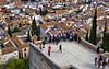 Spain: Granada, Torre de las Armas (Henk Binnendijk) Tags: alhambra spain spanje españa granada andalucia andalucía andalusia palace fortress arabic muslim nasrid reconquista alcazaba people albaicin albayzín torredelasarmas