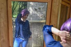 PNI_0023-2 (nicolaspetit7878) Tags: woman lady girl wife violet violette portrait portraiture pose model modèle suave cabane nature lumière lumièrenaturelle light naturallight shorthair she elle personne people femme visage lovely couleur cute color scène nikond5500 nikon tamron extérieur outdoor
