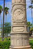 A Column at Tampa Union Station (1of 2) (gg1electrice60) Tags: columns atlanticcoastline acl seaboardairline sal seaboard tampanorthernrailroad tampa florida fl hillsboroughcounty unitedstates usa us 601nnebraskaavenue 601northnebraskaavenue 601nnebraskaave 601northnebraskaave nationalregisterofhistoricplaces tampaunionstationcompany tampaunionstationco railroadstation railroaddepot railroadyard rryard routeoftheorangeblossomspecial mrharrylove firststationmaster thechampion namedtrains railroadtracks rrtrack amtrak amtrakstation amtrakdepot