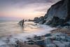 Ayrmer Cove (Rich Walker75) Tags: beach beaches sunset sky devon landscape landscapes landscapephotography sea ocean waves seaside cove rock cliffs coast coastal coastline england canon eos eos80d efs1585mmisusm nationaltrust