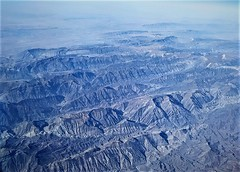 flying over Iran (SM Tham) Tags: middleeast iran mountains terrain landscape aerialview aeroplane