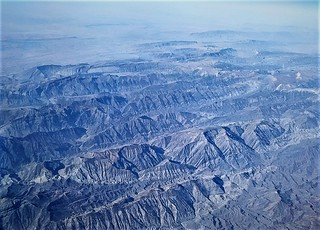 flying over Iran