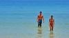 Honeymooners (gerard eder) Tags: world travel reise viajes outdoor people peopleoftheworld wasser water beach strand playa blue meer sea vacaciones vacations urlaub