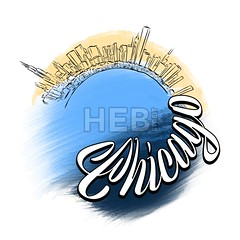 Chicago Travel Logo Sketch (Hebstreits) Tags: america architecture background beautiful building business chicago city cityscape design downtown icon illustration isolated label landmark landscape logo modern panorama poster silhouette sky skyline skyscraper states symbol tshirt text tourism travel typography usa vector vintage