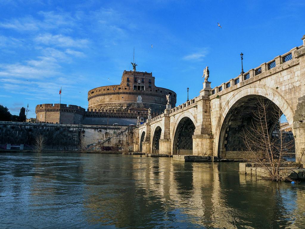 Covered Bridge Over the Ticino River Wallpaper Italy World
