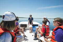Saratoga Water Shield Workshop (Adirondack Watershed Institute) Tags: environment watershed natural resources adirondack institute paul smiths college psc awi dec ny new york adirondacks saratoga lake