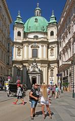 Gentlemen Prefer Blondes (Wolfgang Bazer) Tags: blondinen bevorzugt blondine gentlemen prefer blondes blonde peterskirche wien 1 bezirk vienna 1st district österreich austria kirche church