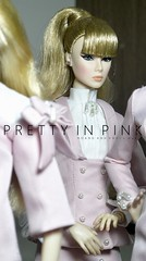 PRETTY IN PINK by m u n l e (Hoang Anh Khoi) Tags: fashionroyalty she owns everything erin salton up all night lilith tweed couture dania zarr hoanganhkhoi