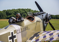 Junkers CL1 (StevePilbrow) Tags: great war display team world 1 one dogfight dummy gunner vintage aircraft flying junkers cl1 classic sports car show flywheel festival raf bicester heritage centre june 2018 nikon d7200 nikkor 18105mm