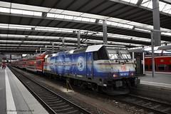DB 146-247, Munchen-Hbf (cellique) Tags: db 146247 munchenhbf munchen regiobahn spoorwegen treinen zuge railway train eisenbahn