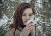 Unveiling (Luv Duck - Thanks for 12M Views!) Tags: select alliah brunette beautiful mask alaskan mardigrasmask modeling alaskanwinter