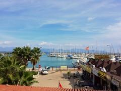 20151027_111835000_iOS (hsnbnc) Tags: finike antalya turkey holdiday hdr iphone5s snapseed summer hot marina sea blue sky boat