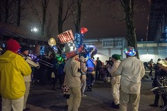 20171221_0093_1 (Bruce McPherson) Tags: brucemcphersonphotography thecarnivalband marchingmusic processionalmusic partymusic colourfulmusic colourful wintersolsticelanternfestival familyevent falsecreek oceancementplaza convergence festive granvilleisland secretlanternsociety lanternprocession lanterns lantern procession candles cold icy dark night low light photographynight photographyevent photographyvancouverbccanadaoutdooroutdoorsfirst day winterfalse creeklive music