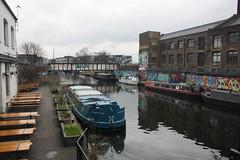 Hackney Wick (lazy south's travels) Tags: london england english britain british uk hackney capital city river canal urban barge boat