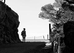 Great view (Streetphotograph.de) Tags: view mountain sky ocean spain mallorca leonegraph streetphotographer streetphotography candid unposed street city stadt monochrome bw blanco negro bn sw schwarz weis panasonicgx80 mft