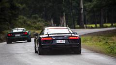 Targa Tasmania (Keith Midson) Tags: targa targatasmania cars racing car audi r8 lotus motorsport tasmania longley audir8 exige