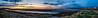 Sunset (James Anley) Tags: sunset greenan arran sky sun sea ayr ayrshire castle pano
