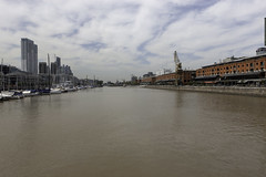 Puerto Madero (blueheronco) Tags: puertomadero waterfront canal dock buenosaires argentina street city yachts boats
