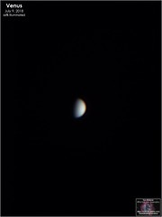 Venus - July 9, 2018 (The Dark Side Observatory) Tags: tomwildoner night sky deepsky space outerspace skywatcher telescope 120ed celestron cgemdx asi190mc zwo astronomy astronomer science canon canon6d deepspace guided weatherly pennsylvania observatory darksideobservatory stars star leisurelyscientist leisurelyscientistcom tdsobservatory backyardeos venus july 2018
