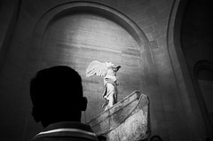 tête-à-tête (dotsally) Tags: louvre paris museum statue noiretblanc blackandwhite monochrome ricohgrii ricohdigital